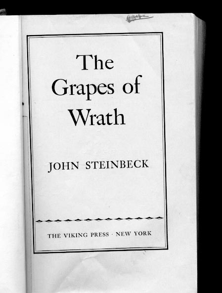 the focus on the joads in john steinbecks the grapes of wrath The changing concept of family in the grapes of wrath by john steinbeck throughout the book, the grapes of wrath by john steinbeck  the joad's focus is.